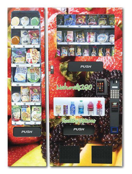 Refurbished FEH Combo Healthy Entrée Vending Machine ...