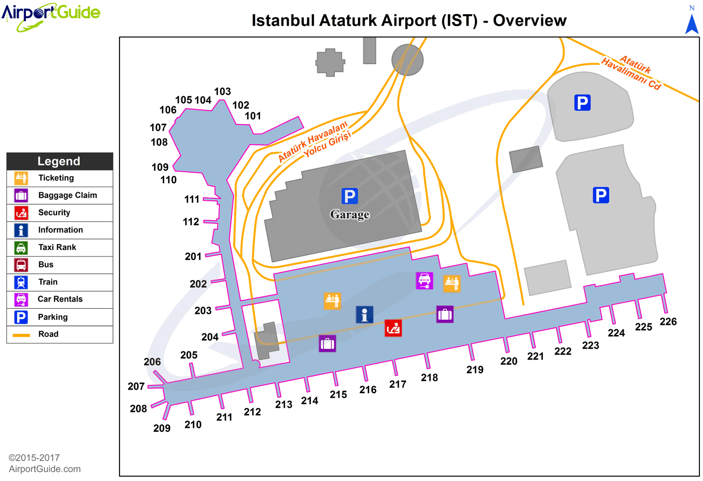 ataturk international airport map Istanbul Ataturk International Ist Airport Terminal Map ataturk international airport map
