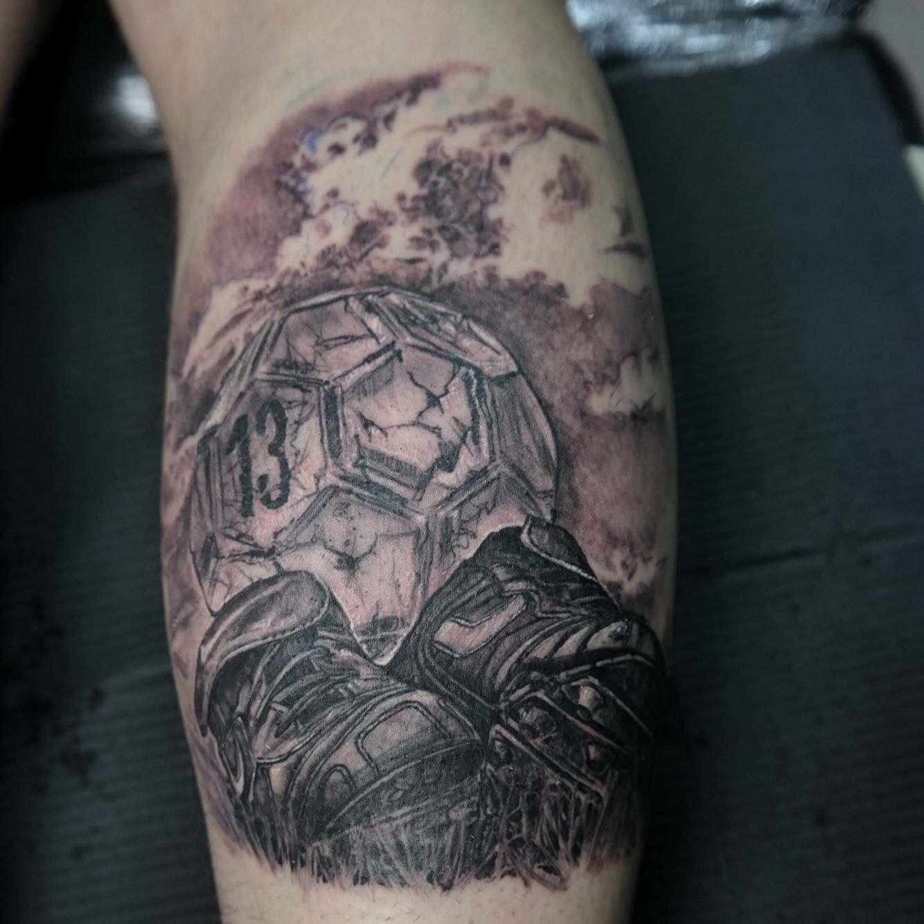 Ansprechend Fussball Tattoo Galerie Von My Football ✌ Schulter Tattoo, Fußball, Ideen,