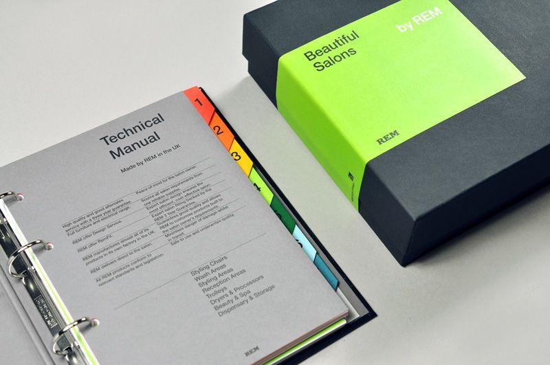 Rem Manual Designlsc Manual Design Folder Design Brand Book