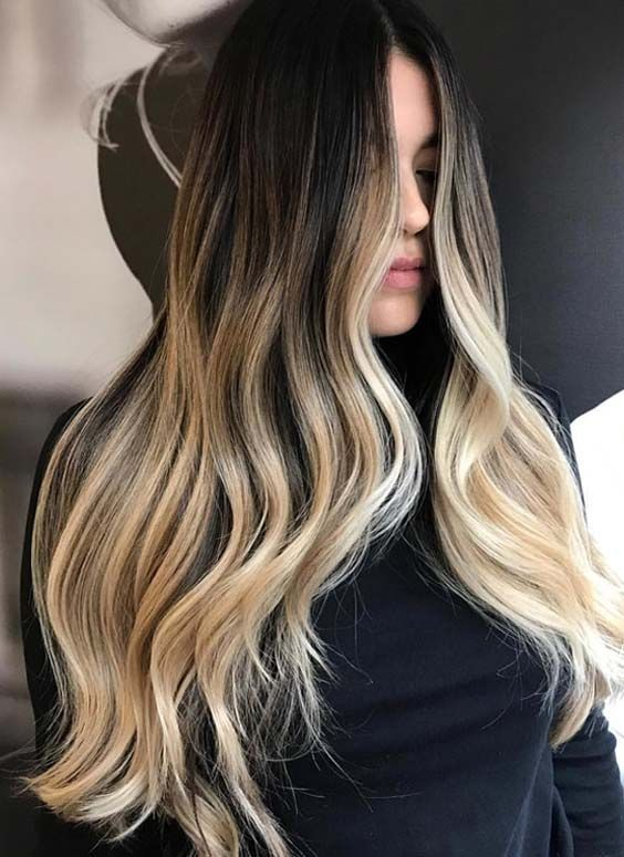 ombre of and easy