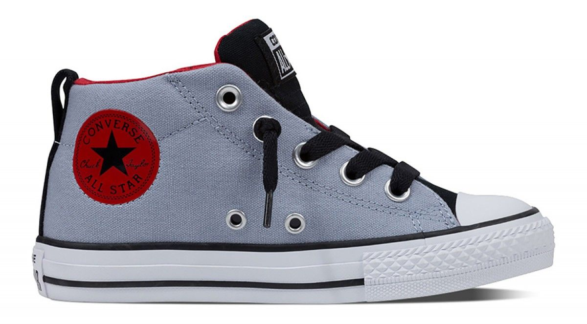 Converse Chuck Taylor All Star Youth Street Mid Blue Granite/Casino/White