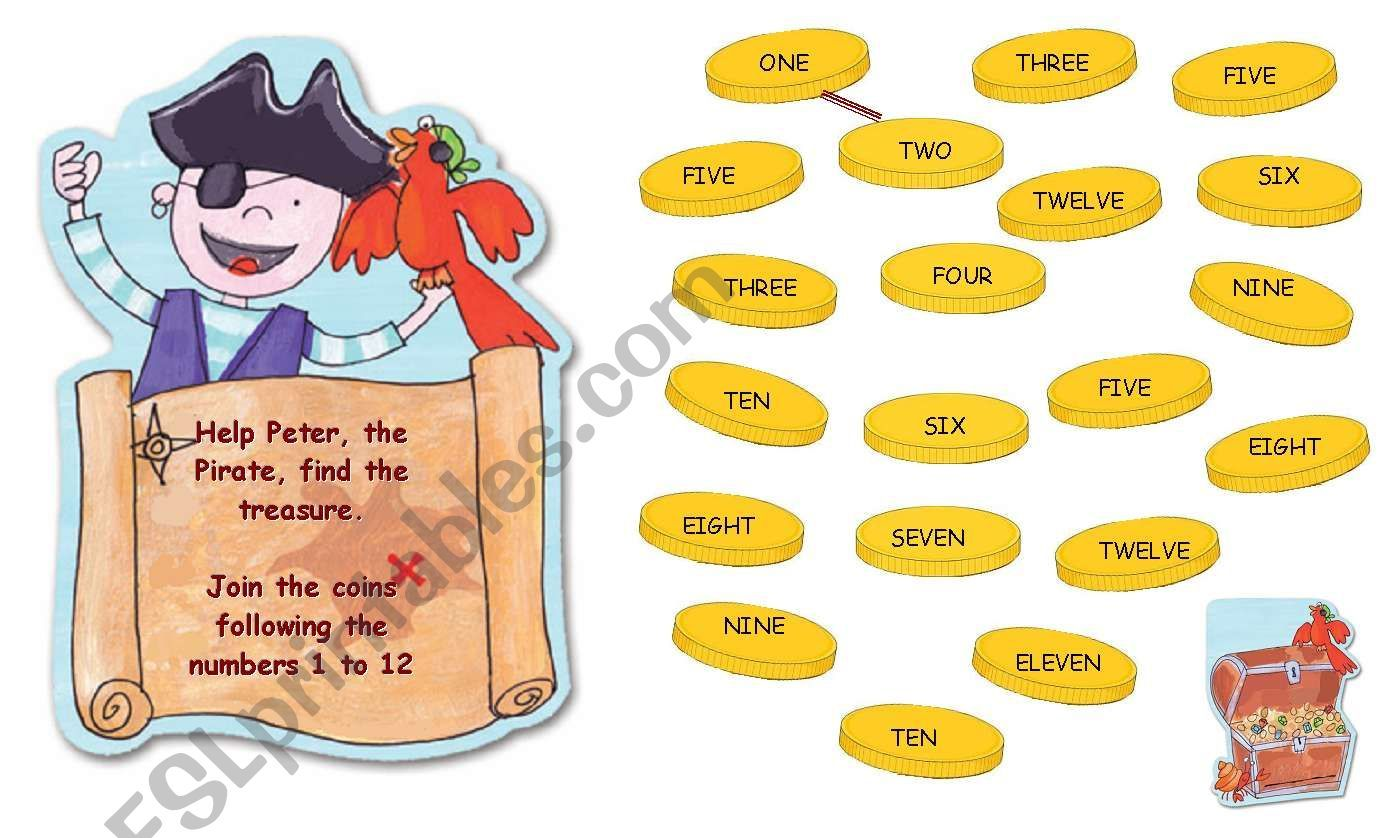 Peter The Pirate Worksheet