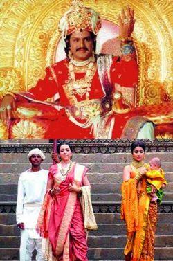 Balayya gifted Lepakshi sari to Hema Malini