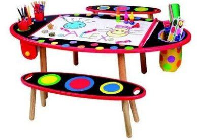 Kids Art Table | Indesign Arts And Crafts