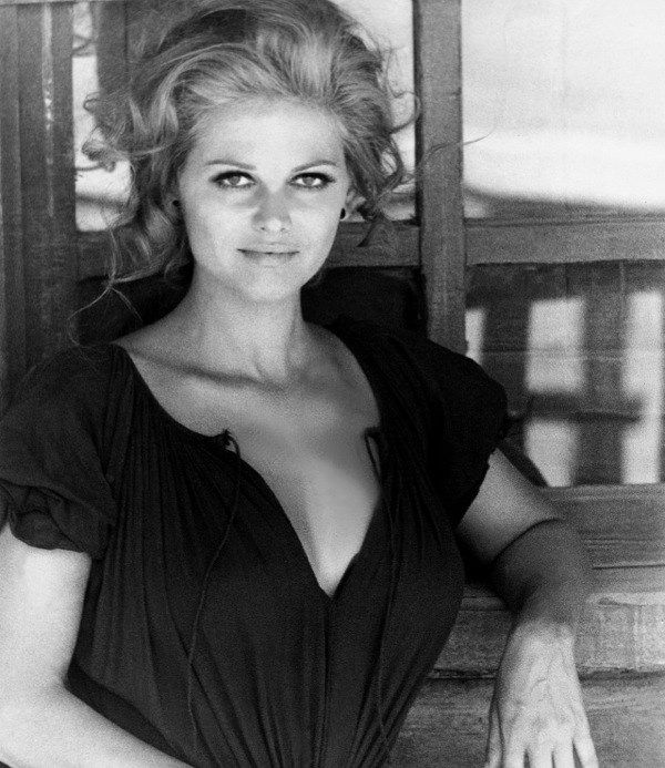 The Beautiful Claudia Cardinale In Once Upon A Time In The West