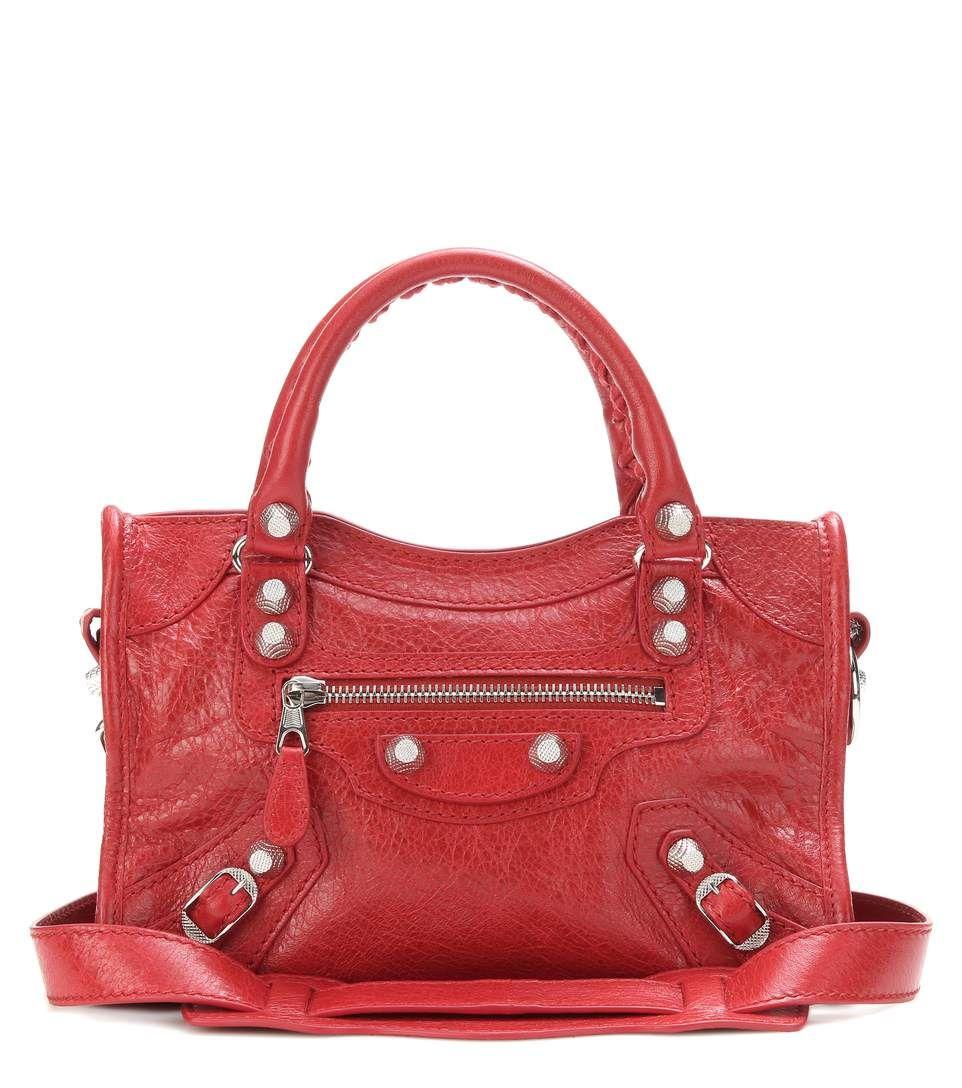 Balenciaga Giant 12 Mini City - rouge - 1025€