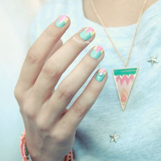 Hop On Easter Nail Art With These 14 Springy Manis | Easter nail art ...