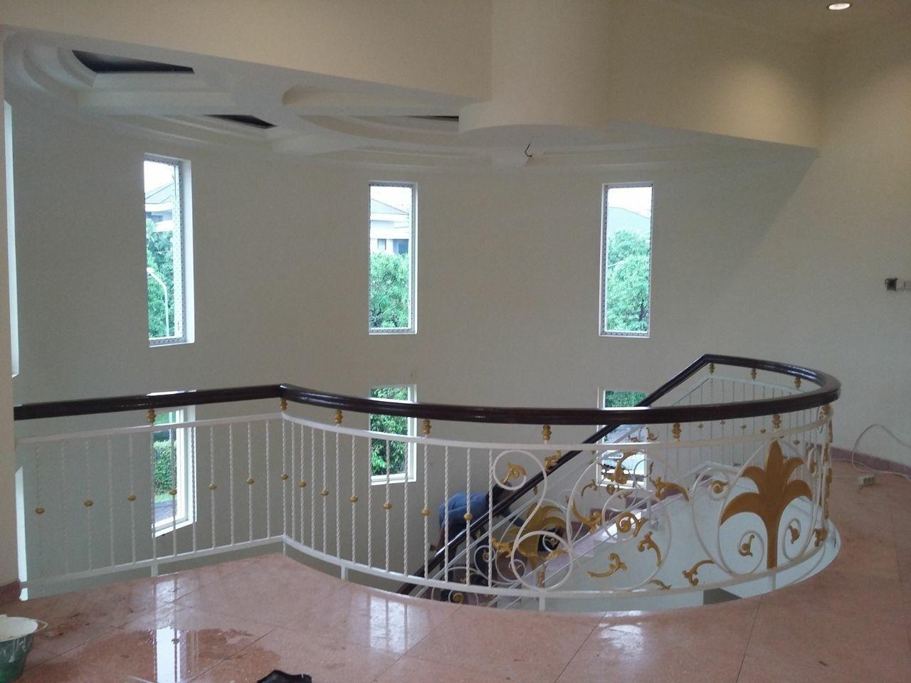 Jasa Pembuatan Railing Tangga Balkon 085732141033 Jasa Pasang Pembuatan Canopy Pagar Tangga Kusen Minimalis Rumah Tangga Minimalis