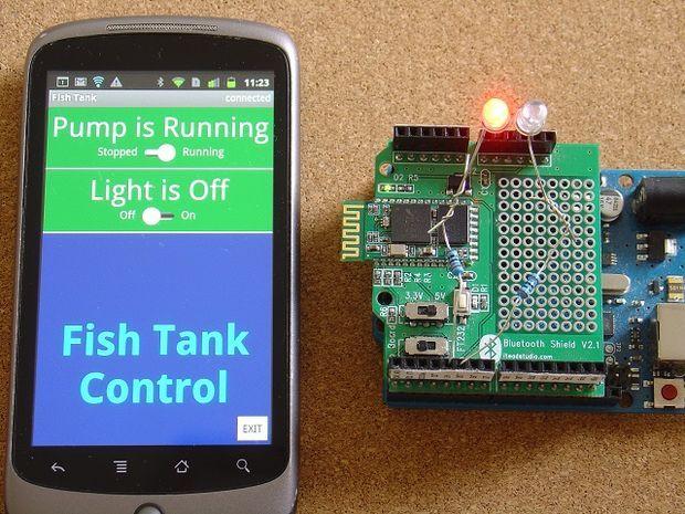 Code generator for custom android arduino menus to switch