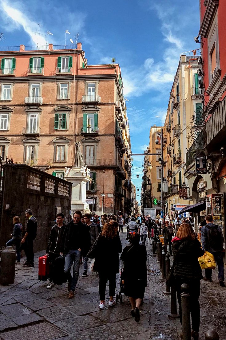 The Busy Streets In Naples During Autumn Time Iliveitaly Naples Travel Italy Road Trips Italy Tours Italy Travel