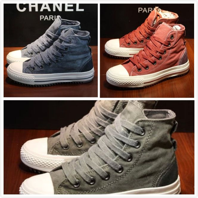 2014 Special Offer New Medium(b,m) Casual Free Shipping Sneakers Spring Ultra- Low Wear And Street Fashion Canvas Shoes To Help $28.00