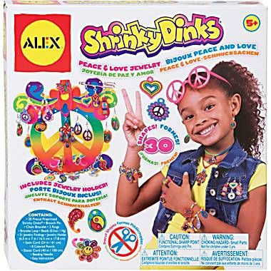 Not sure how I missed out on ShrinkyDinks as a kid but I intend to make up for it.