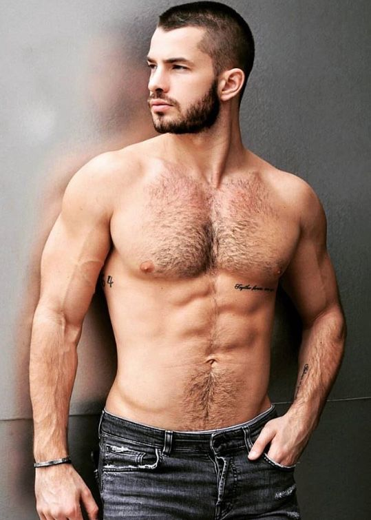 Handsome Hairy Men Naked