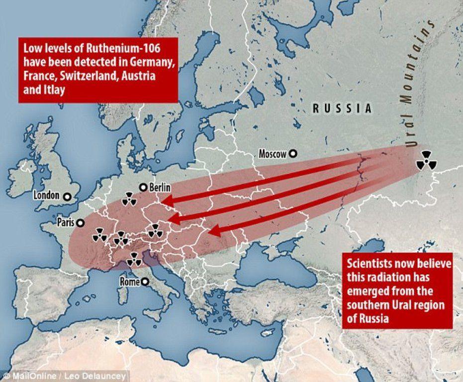 Картинки по запросу radioactive cloud over europe