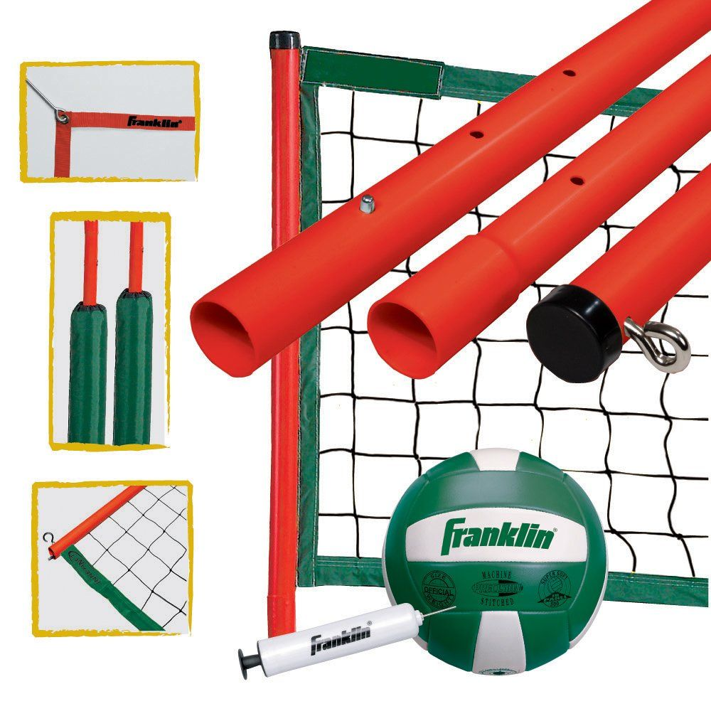 Franklin Sports Elite Volleyball Set Atg Stores With Images Volleyball Set Fun Sports Franklin Sports