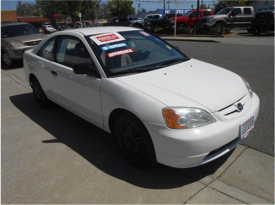 Coupe, 2001 Honda Civic LX With 2 Door In Roseville, CA (95678)