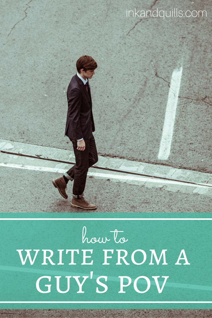 How to Write from a Guy's POV