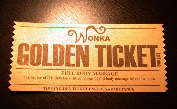 Anniversary week: intimate moments anniversaries golden ticket