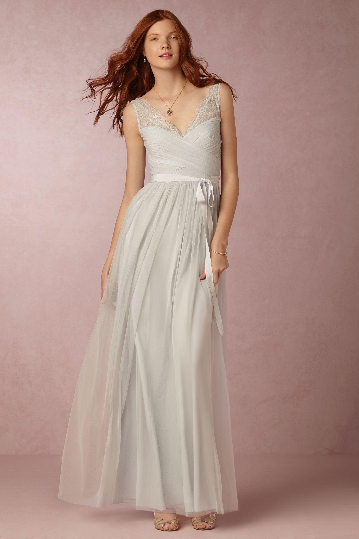 Fleur Bridesmaid Dress in powder blue from BHLDN | Something Blue ...