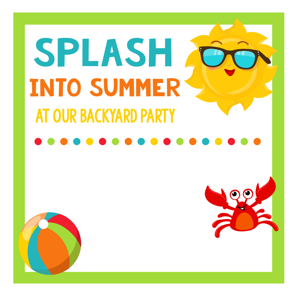 School\'s Out Party-Summer Celebration for Kids | Summer parties ...