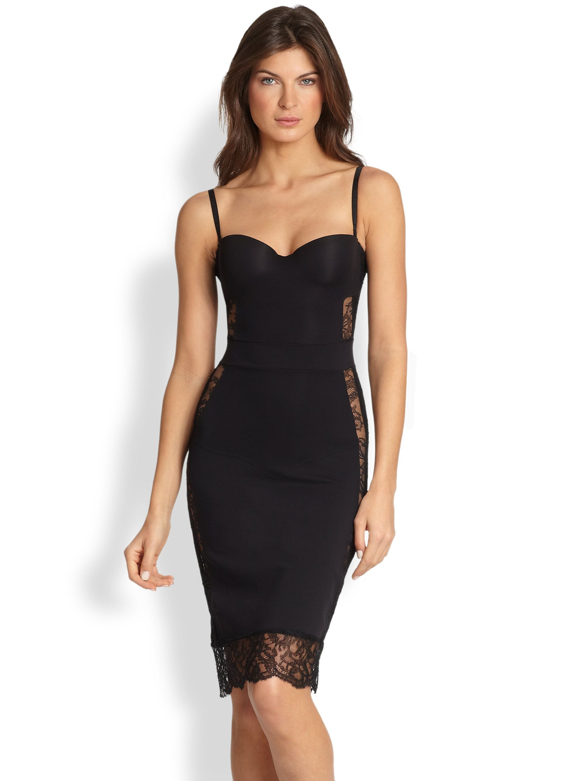 Love This Shape Allure Convertible Slip Dress