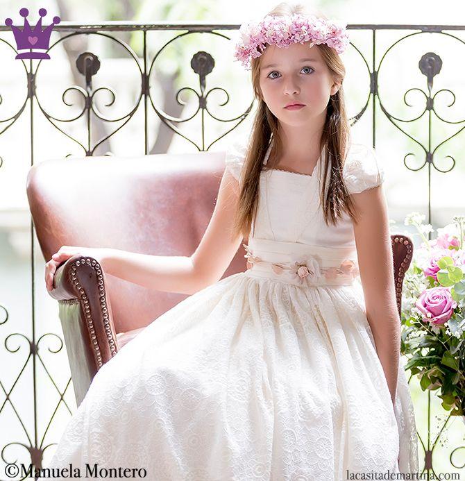 7dad0365a9 MANUELA MONTERO dulces diseños de moda infantil y trajes de PRIMERA COMUNIÓN  ♥   Blog. Read it