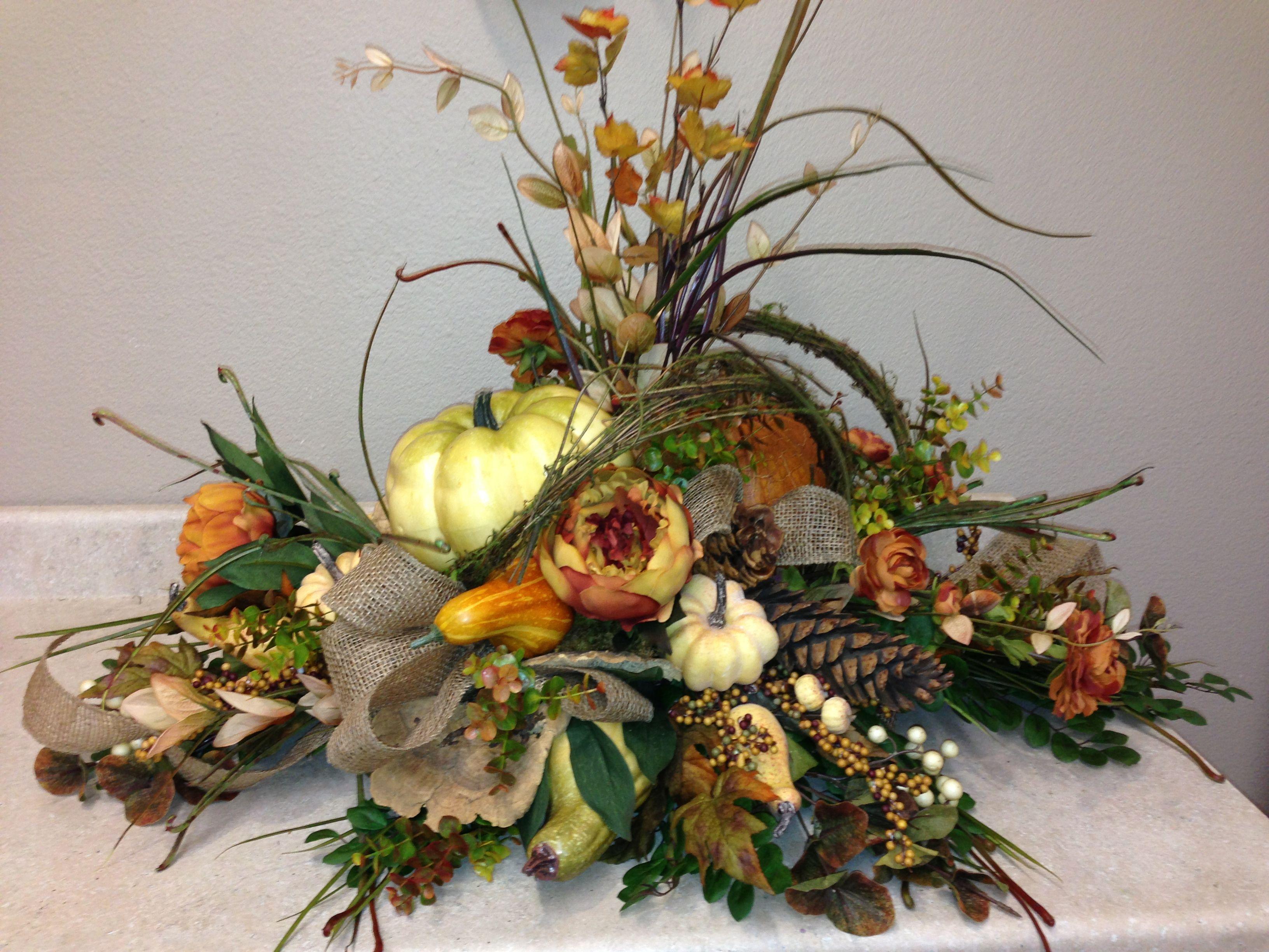 Fall Silk Floral Arrangements Centerpiece Silk And Craft Creations Fall Floral