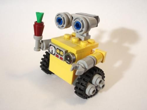 LEGO Set MOC-1364 Wall-E - building instructions and parts list ...