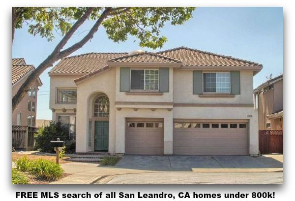 Free Mls Search Of All San Leandro Ca Homes Under 800k House Styles San Leandro Beach House
