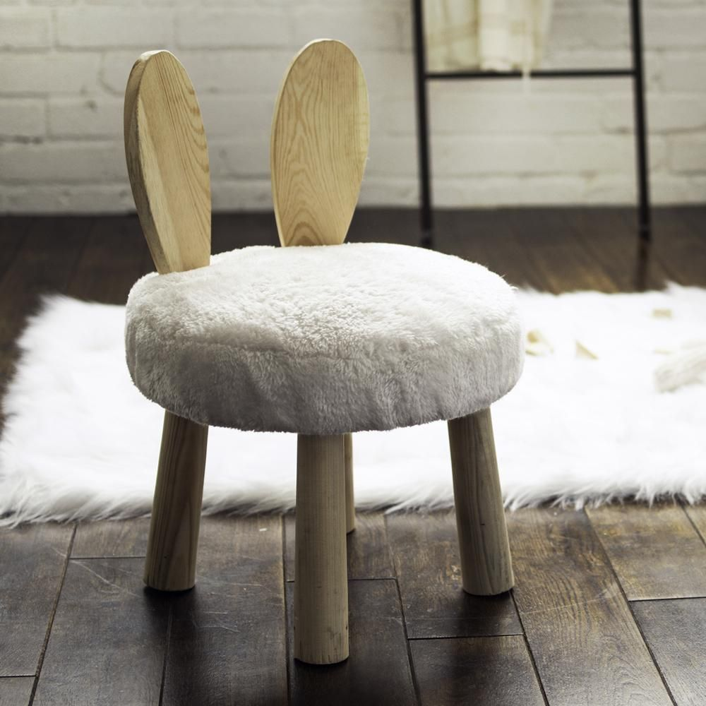 Rabbit Kids Stool | Kids stool, Step stool kids, Stool