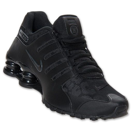 black nike shox for men