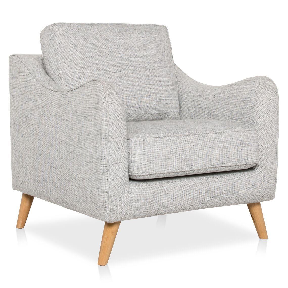 Maddox Fabric Armchair Fabric Armchairs Armchair Oversized