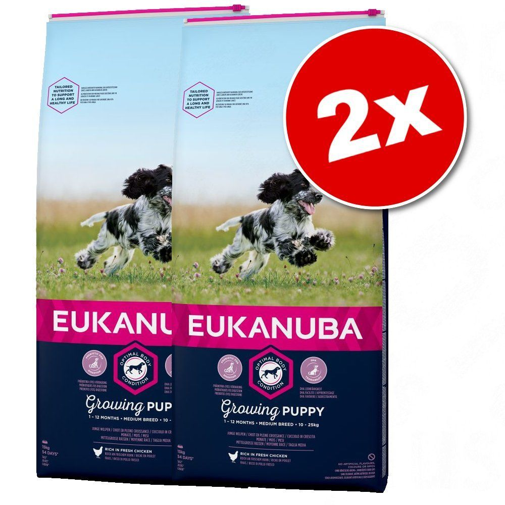 eukanuba puppy food medium breed