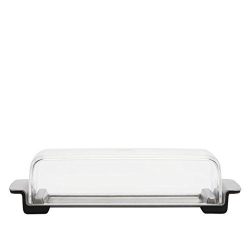 OXO Good Grips Butter Dish Stainless Steel/Clear