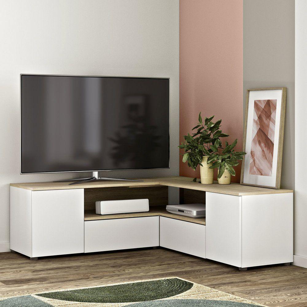 فاسد يا هنا meuble tv angle ikea
