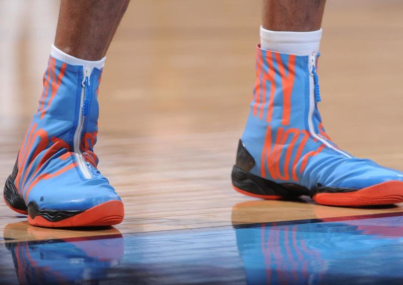 russell westbrook shoe line