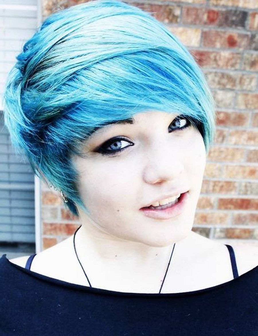Girls Hairstyles For Short Hair 2014 Pastel And Goth Things