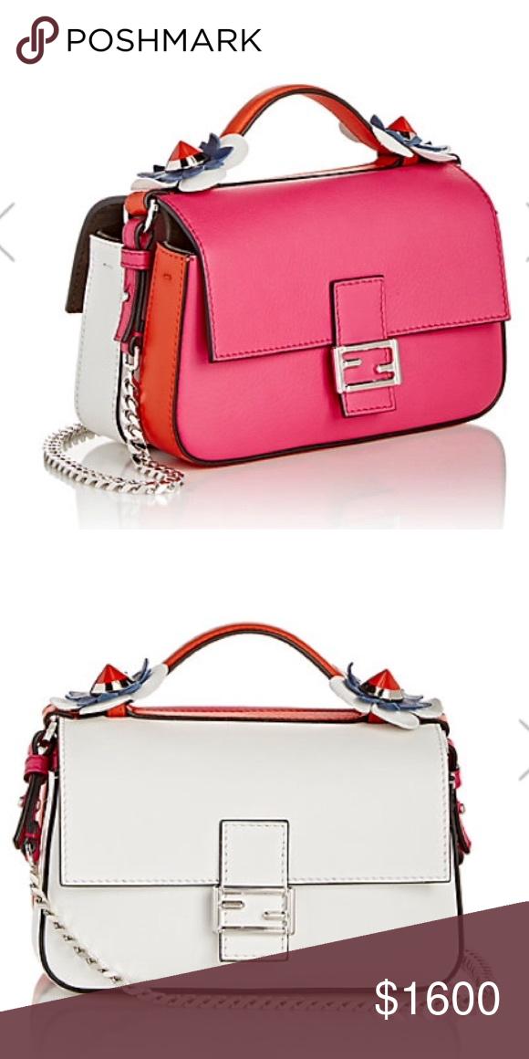 7f388b52e7 Micro fendi double baguette bag New. Fendi double bag. love these two color.  Fendi Bags