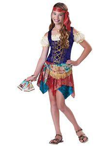 gypsys spell gypsy fortune teller mystical tween girls costume ebay - Mystical Halloween Costumes