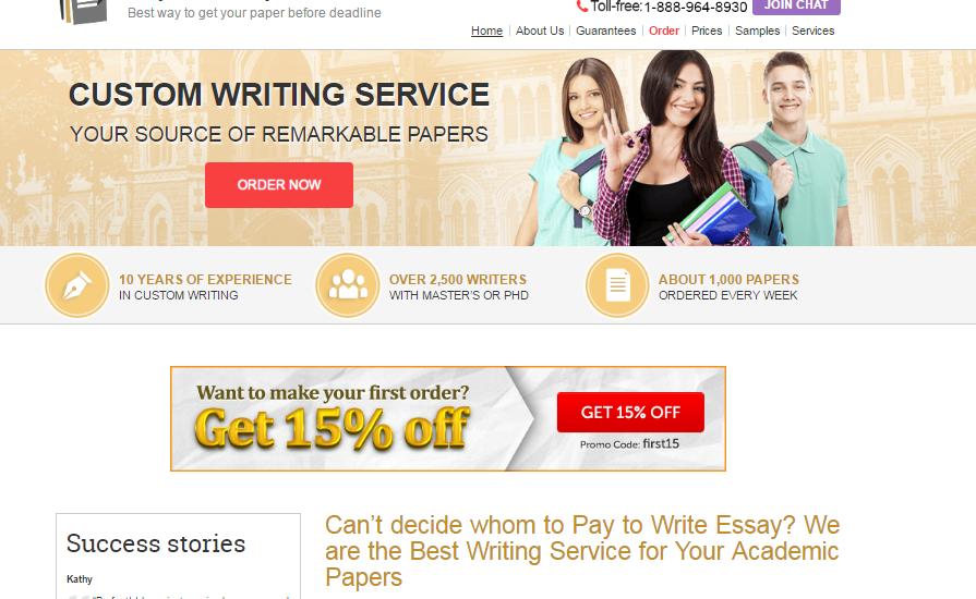 write an essay website