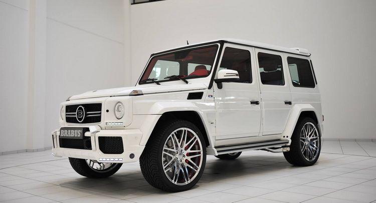 White Brabus G Wagon Has Flamboyant Written All Over It Custom