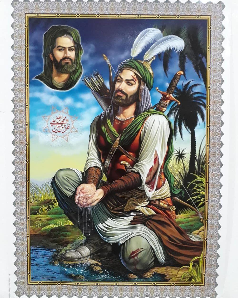 394 Likes 16 Comments علي ال خليفة الشمري Lwy313lwy On Instagram Islamic Paintings Painting Instagram Posts