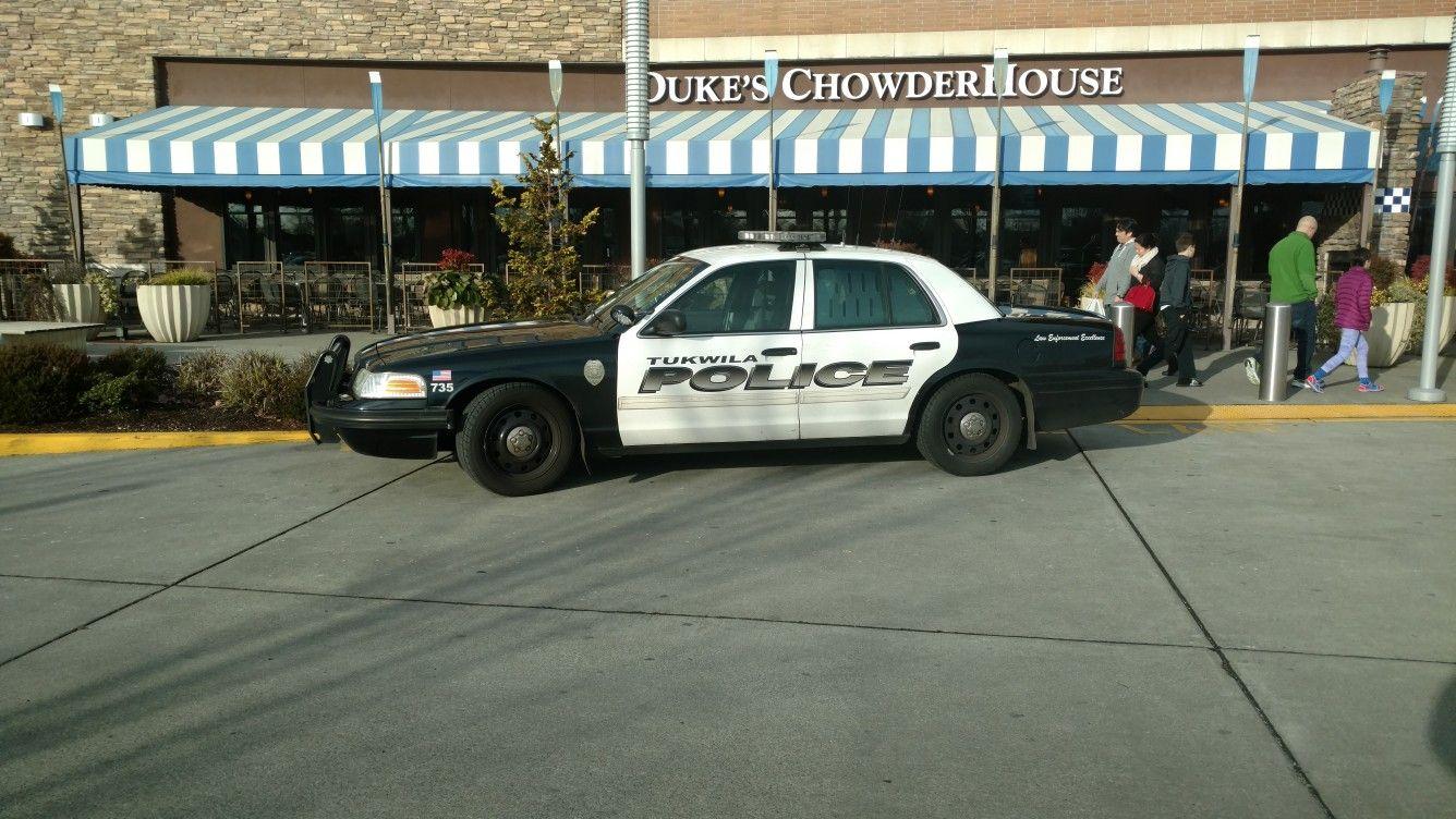 Wa Tukwila Police Dept Police Cars Emergency Vehicles Police