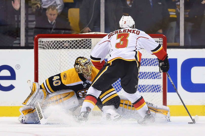 Bruins vs. Flames 05/03/2015 Calgary Flames Photos