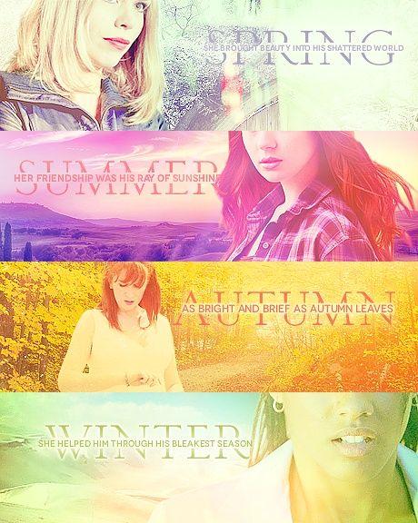 The seasons of companions.