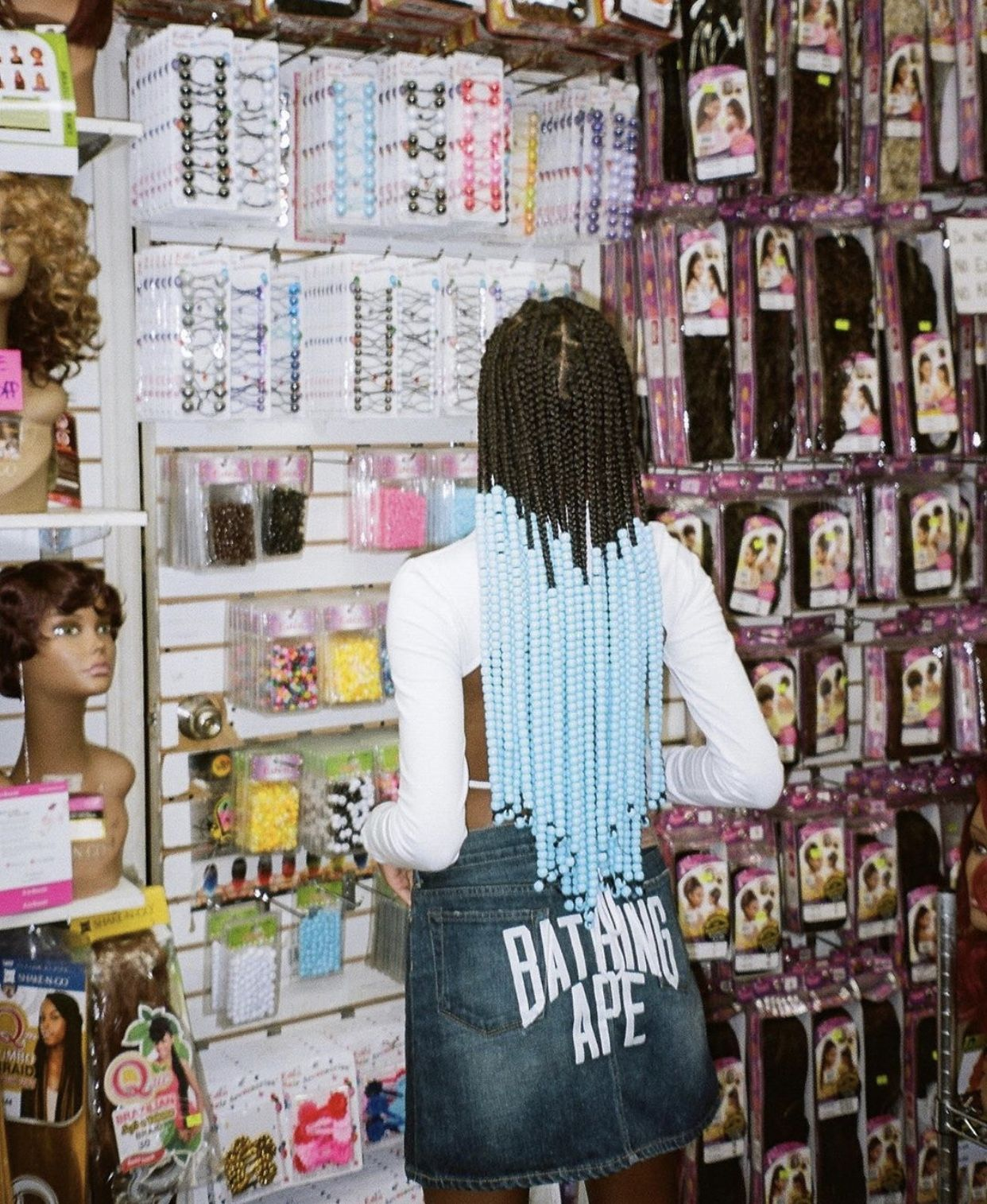 Beauty Supply Store, Black Girl