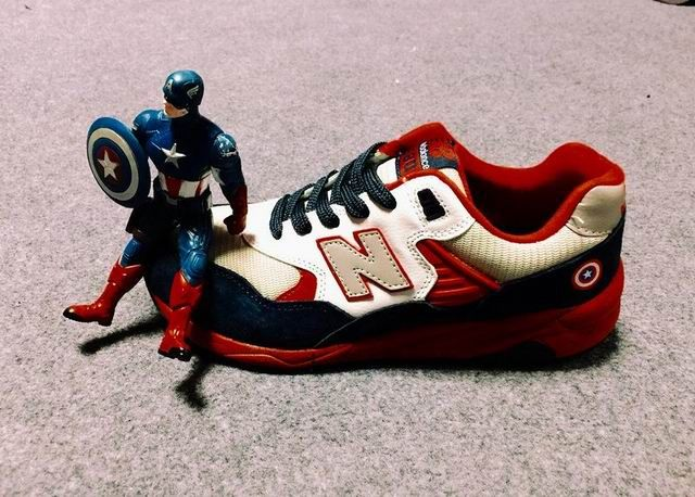 5b1996884a5e9 Discount New Balance MRT580BLU Captain America Blue White Red Mens ...