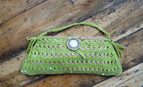 Ravelry: Stargazer Silk Clutch pattern by Amy Small