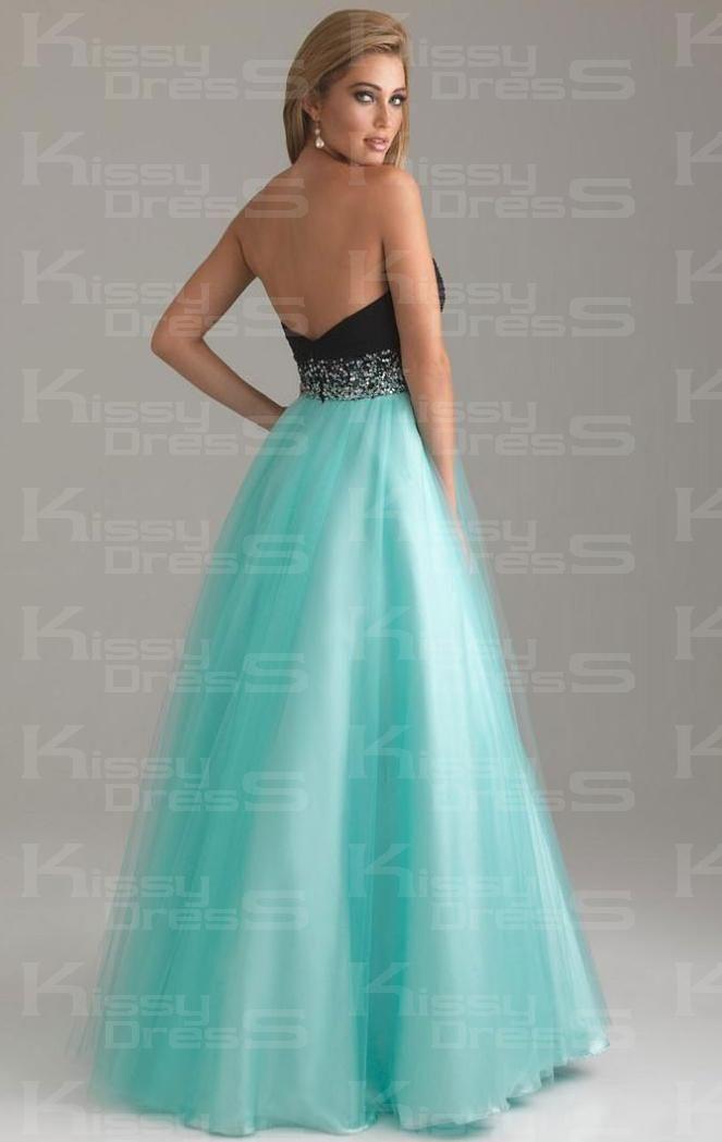 3de78518c75f9 Hot Tulle A-line Strapless Sweetheart Empire Long Prom Dress Online|KissyDress  UK